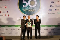 Hà Đô lần thứ 3 liên tiếp vào TOP 50 công ty niêm yết tốt nhất Việt Nam
