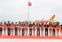 Vietjet cùng lúc khai trương 2 đường bay Hà Nội - Huế và Hà Nội - Đài Bắc