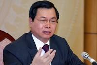 Ban Bí thư kỷ luật cựu Bộ trưởng Bộ Công thương Vũ Huy Hoàng