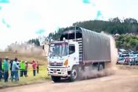 Đua xe tải - môn thể thao của những 'gã khổng lồ'