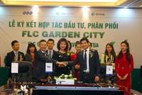 FLC, CENINVEST và STDA ký kết hợp tác đầu tư phân phối FLC Garden City