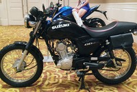 Xế độ Suzuki GD110 ở Sài Gòn