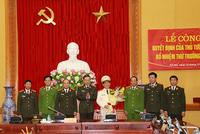 Bổ nhiệm lãnh đạo Bộ Công an, Tổng cục Cảnh sát
