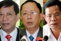 Nhiều lãnh đạo cấp cao bị kỷ luật trong vụ ông Trịnh Xuân Thanh