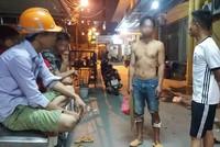 Hà Nội: Sập giàn giáo công trình chung cư Dự án Thanh Hà B, 3 người bị thương