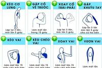 12 động tác giúp bạn khởi đầu tuần mới năng động