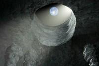 Con người có thể trú ẩn trong hang dài 50 km trên Mặt Trăng