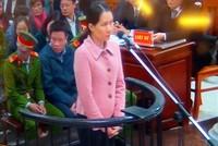 Nguyên Tổng giám đốc Oceanbank Nguyễn Minh Thu khai chi 12,9 tỷ đồng tiền chênh lệch tỷ giá cho Nguyễn Xuân Sơn