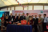 Vietjet và BNP Paribas ký kết thỏa thuận tài trợ tín dụng mua máy bay