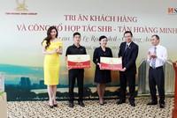 Tân Hoàng Minh hợp tác với SHB tại Dự án D' Le Roi Soleil - Quảng An