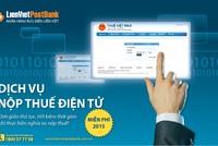 LienVietPostBank cung cấp dịch vụ nộp thuế điện tử