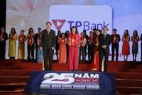 Lần thứ 4 TPBank nhận giải Thương hiệu mạnh Việt Nam