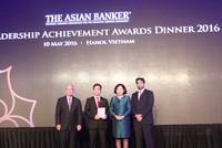 Agribank nhận giải thưởng Dịch vụ tài chính vi mô tốt nhất Việt Nam 2016