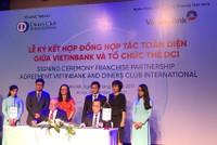 VietinBank ký kết hợp đồng hợp tác toàn diện với Tổ chức thẻ Diners Club International