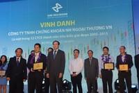 HNX vinh danh 12 công ty chứng khoán tiêu biểu