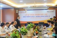 PJICO bắt tay với BAC A BANK phát triển sản phẩm