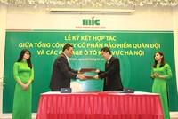 MIC ký kết hợp tác với 30 garage ô tô khu vực Hà Nội
