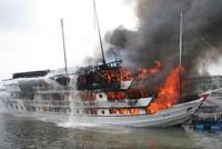 Bảo hiểm Bảo Việt ước chi trả bồi thường 110 triệu đồng cho tàu cháy Aphrodite