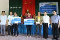 Bảo hiểm Bảo Việt chi trả gần 2 tỷ đồng bồi thường cho 2 tàu cá Thanh Hóa