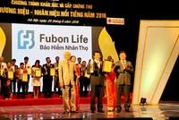 """Fubon Life Việt Nam lọt vào Top 10 """"Thương Hiệu Nổi Tiếng 2016"""""""