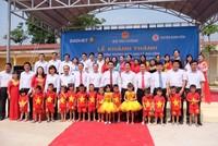 Tập đoàn Bảo Việt đầu tư 8,5 tỷ đồng xây trường mầm non Thái Nguyên
