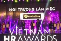 Nhiều DN lớn được vinh danh tại Vietnam HR Awards 2016