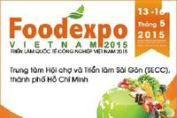 Trên 300 doanh nghiệp tham gia Vietnam Foodexpo 2015