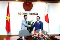 Việt Nam Nhật Bản tăng cường hợp tác trên lĩnh vực công nghiệp thương mại