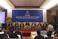 Chính thức ra mắt Ban Nghiên cứu Phát triển kinh tế tư nhân