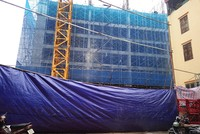 Hà Nội: Sập giàn giáo công trình Dự án Eco Green Tower khiến 6 người thương vong