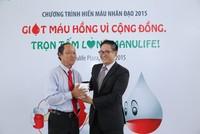 Hơn 150 nhân sự của Manulife Việt Nam tham gia hiến máu nhân đạo