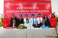 """Bảo Minh """"bắt tay"""" Coface và Eximbank bán bảo hiểm tín dụng thương mại"""