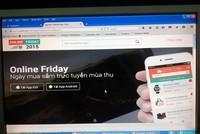 Hơn 50.000 sản phẩm khuyến mãi trong Ngày mua sắm trực tuyến mùa Thu