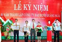 Bảo Minh Quảng Ngãi tăng trưởng bình quân 15% năm