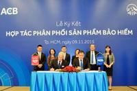 ACB và AIA Việt Nam hợp tác triển khai sản phẩm bancassurance
