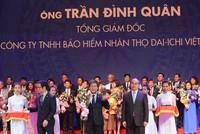 Tổng giám đốc Dai-ichi Life Việt Nam Trần Đình Quân lọt Top 100 doanh nhân Việt Nam tiêu biểu 2016