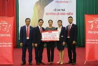 Prudential  chi trả hơn 1 tỷ đồng cho khách hàng tại Hưng Yên