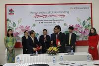 Bảo Minh hợp tác với bảo hiểm KB Hàn Quốc