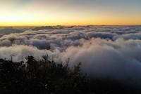 Biển mây kỳ ảo nhìn từ cáp treo Fansipan Sapa