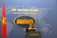 Việt Nam yêu cầu Trung Quốc có lời nói, hành động trách nhiệm tại Biển Đông