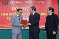 Ban Nội chính Trung ương giới thiệu 2 người ứng cử đại biểu Quốc hội khóa XIV