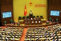 Chiều nay, Quốc hội bầu một số Phó Chủ tịch Quốc hội, Ủy viên UBTVQH