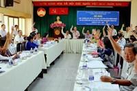 1.121 người được lập danh sách ứng cử đại biểu Quốc hội