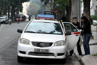 Từ 1/7, khách đi taxi có thể đòi hóa đơn in ngay trên xe