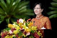 Bà Nguyễn Thị Quyết Tâm trúng cử Chủ tịch HĐND TP.HCM