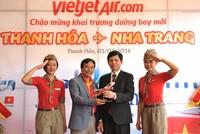 Vietjet khai trương đường bay Thanh Hóa - Nha Trang