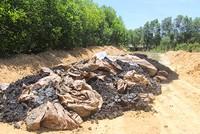 Phát hiện hơn 100 tấn chất thải của Formosa được chôn trong một trang trại