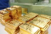 Sáng 30/7, giá vàng trong nước tăng vọt 210.000 đồng/lượng