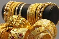 Giá vàng giảm mạnh ngày cuối tuần