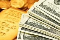 Sáng 25/8, vàng đột ngột giảm giá mạnh, tỷ giá trung tâm tăng lên 21.898 đồng/USD